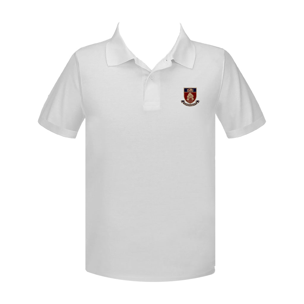 ASPENGROVE GOLF SHIRT, UNISEX, SHORT SLEEVE, ADULT