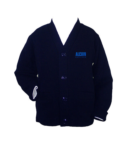 ALCUIN COLLEGE CARDIGAN, UP TO SIZE 42
