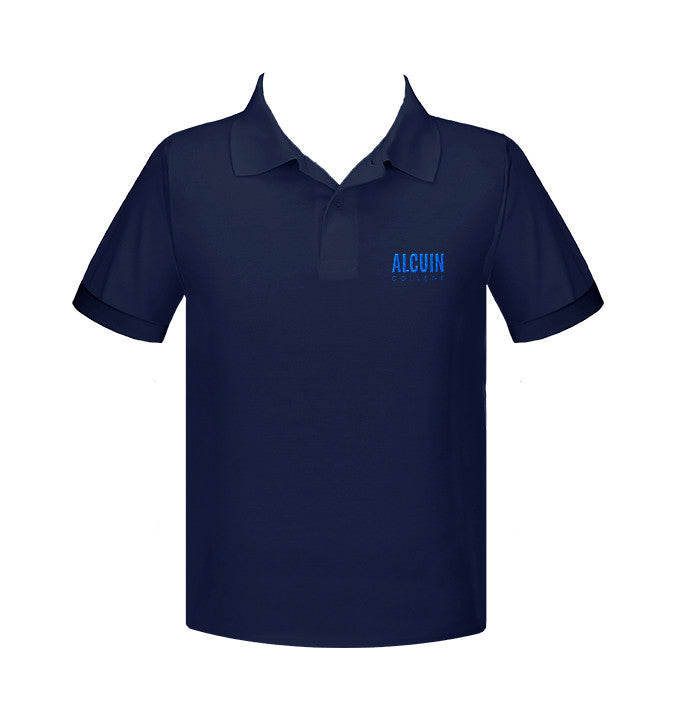 ALCUIN COLLEGE GOLF SHIRT, UNISEX, SHORT SLEEVE, ADULT