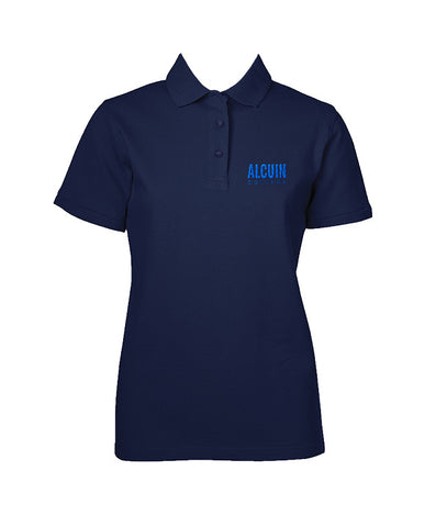 ALCUIN COLLEGE GOLF SHIRT, GIRLS, SHORT SLEEVE, ADULT
