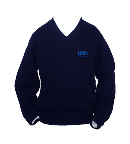 ALCUIN COLLEGE PULLOVER, UP TO SIZE 32