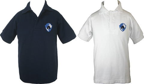 ACADEMICS GOLF SHIRT, SHORT SLEEVE, CHILD