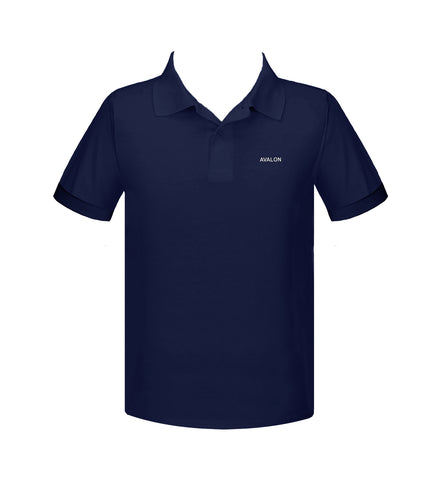 AVALON GOLF SHIRT, UNISEX, SHORT SLEEVE, ADULT