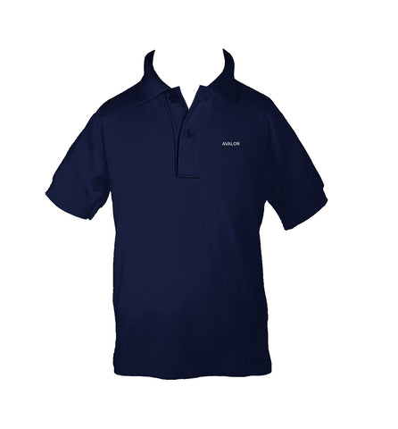 AVALON GOLF SHIRT, UNISEX, SHORT SLEEVE, CHILD