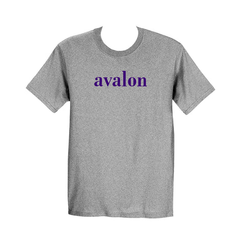 AVALON GYM T-SHIRT, SHORT SLEEVE, COTTON, ADULT
