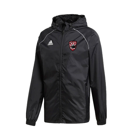 BOWEN ISLAND FC RAIN JACKET, COACHES ONLY, ADULT