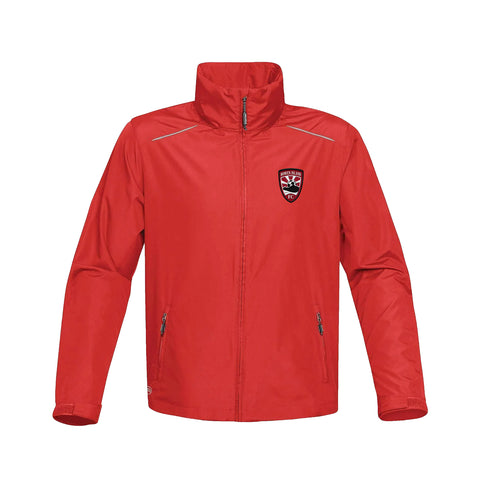 BOWEN ISLAND FC JACKET WITH STOWABLE HOOD, YOUTH