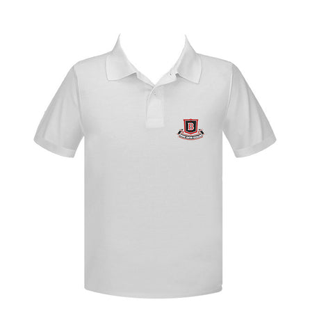 BROCKTON GOLF SHIRT, UNISEX, SHORT SLEEVE, ADULT