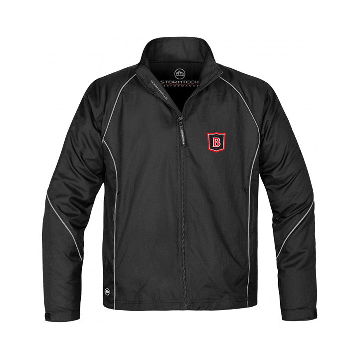 BROCKTON TRACK JACKET, POLYESTER, YOUTH