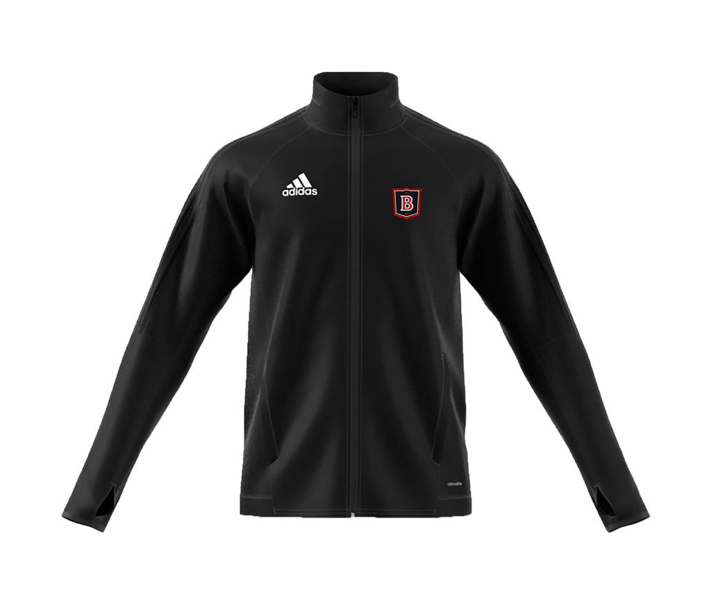 BROCKTON TRACK JACKET, POLYESTER DOUBLE KNIT, ADULT