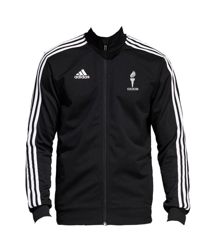 CATHEDRAL TRACK JACKET, POLYESTER DOUBLE KNIT, ADULT