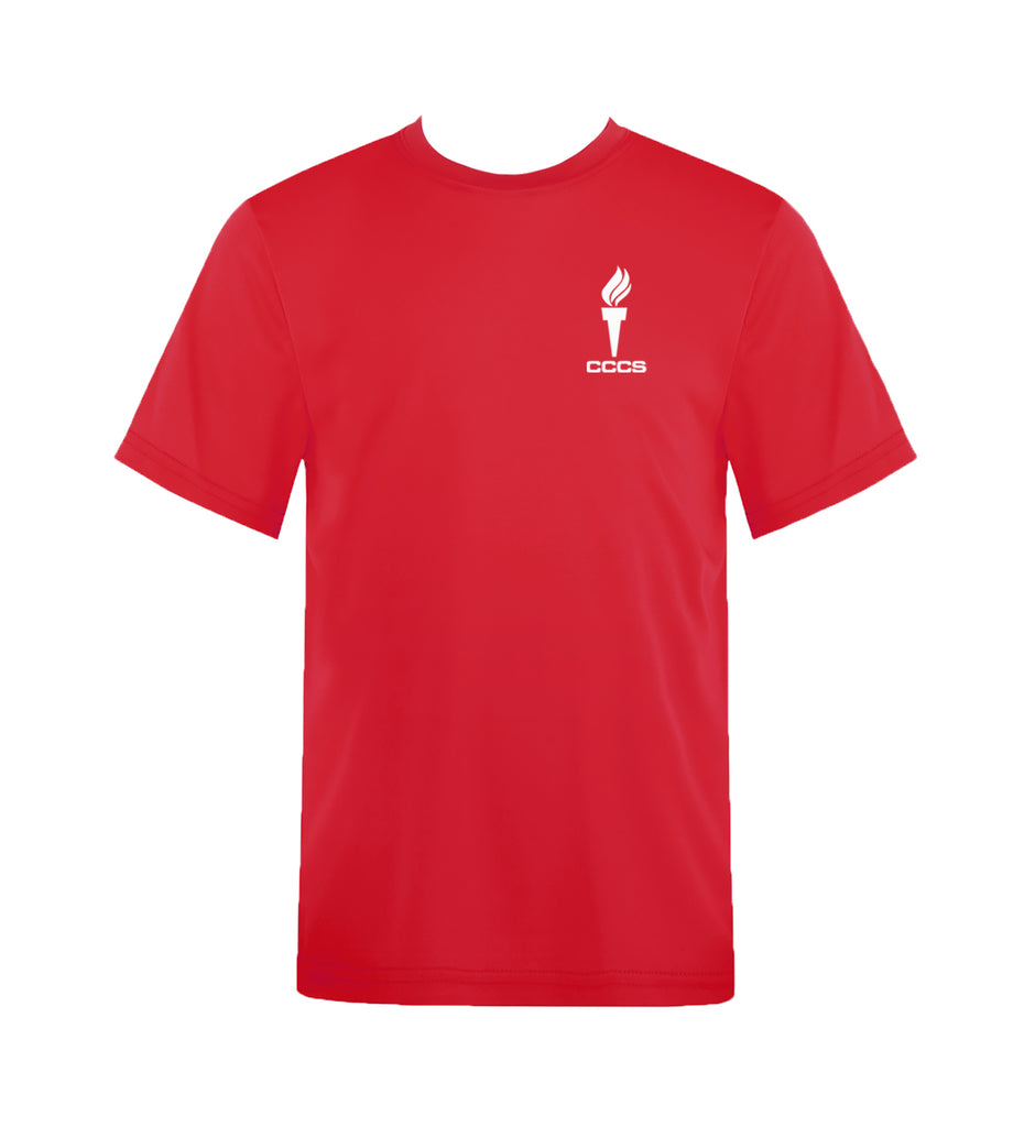 CATHEDRAL GYM T-SHIRT, WICKING, YOUTH