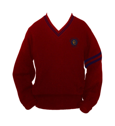 CORPUS CHRISTI PULLOVER WITH PIPING, YOUTH