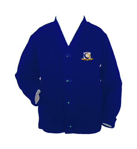 CHOICE SCHOOL CARDIGAN, UP TO SIZE 42