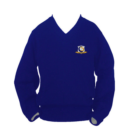 CHOICE SCHOOL PULLOVER, UP TO SIZE 42