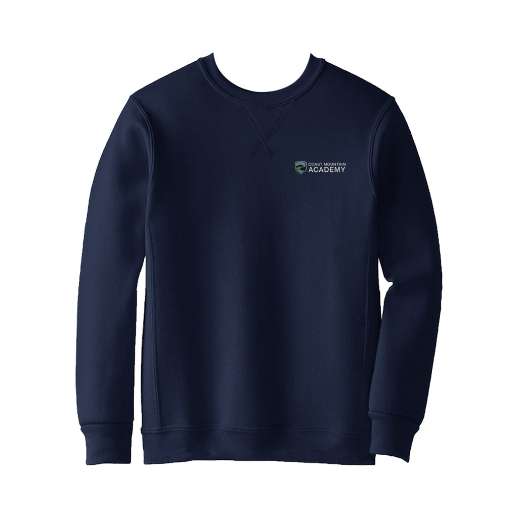 COAST MOUNTAIN CREWNECK SWEATSHIRT, ADULT
