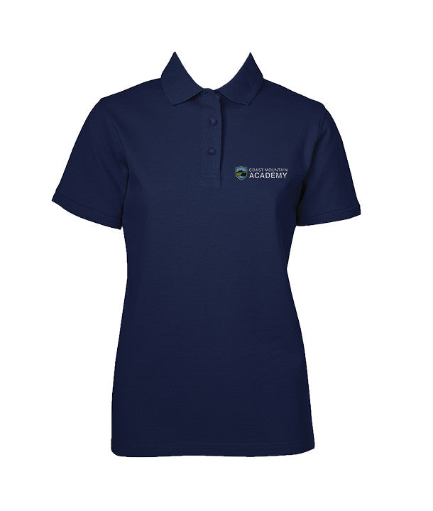 COAST MOUNTAIN GOLF SHIRT, GIRLS, SHORT SLEEVE, YOUTH