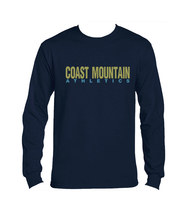 COAST MOUNTAIN GYM T-SHIRT, LONG SLEEVE, COTTON, ADULT