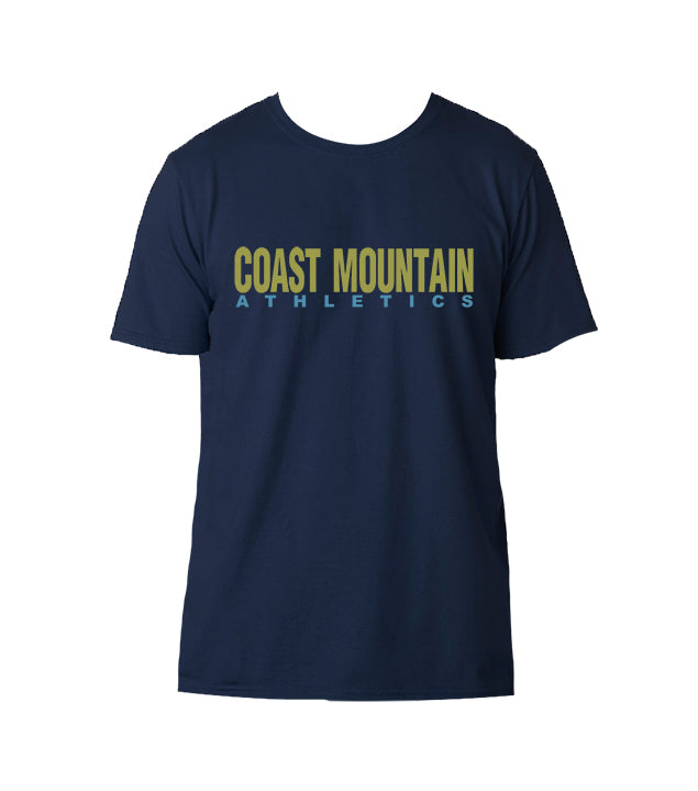 COAST MOUNTAIN GYM T-SHIRT, SHORT SLEEVE, COTTON, ADULT