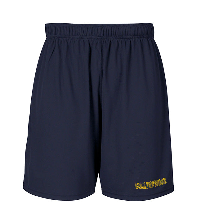 COLLINGWOOD GYM SHORTS, WICKING, YOUTH