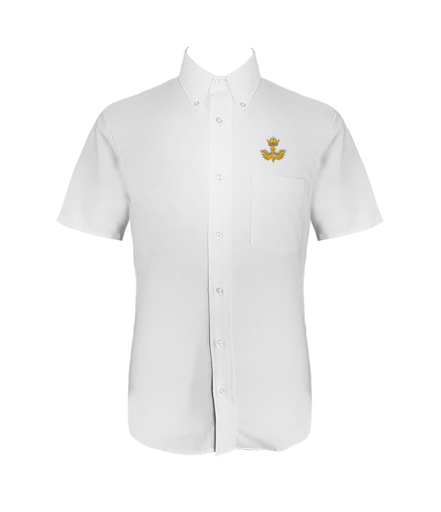 CANADA ROYAL ARTS DRESS SHIRT, UNISEX, SHORT SLEEVE, YOUTH
