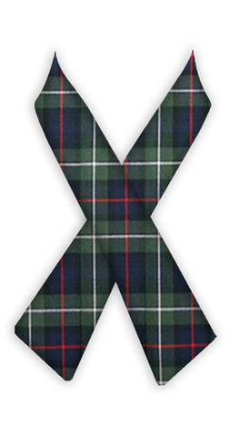 TARTAN CROSSOVER TIE <br><strong> FINAL SALE</strong>