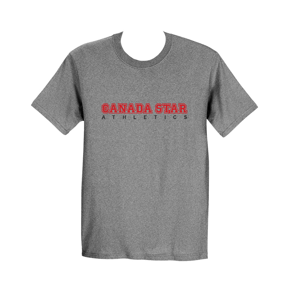 CANADA STAR GYM T-SHIRT, COTTON, YOUTH