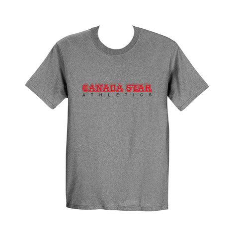 CANADA STAR GYM T-SHIRT, COTTON, ADULT