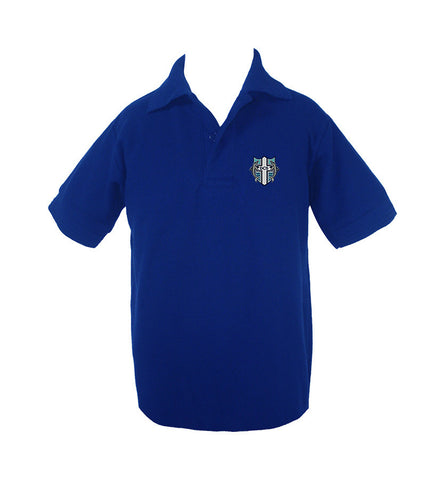 DELTA CHRISTIAN GOLF SHIRT, UNISEX, SHORT SLEEVE, CHILD