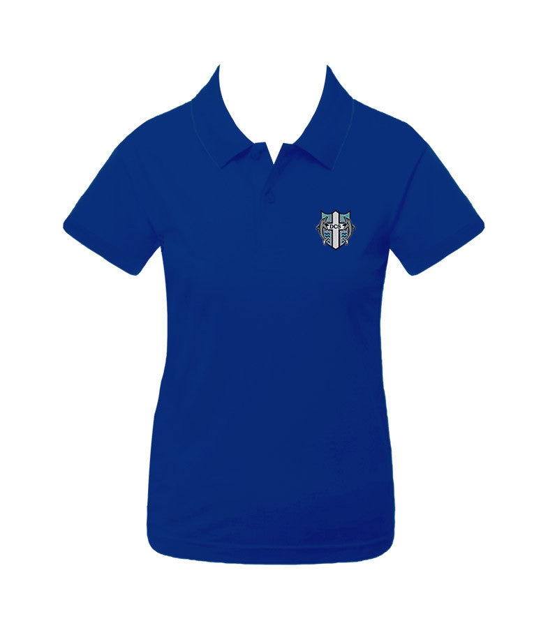 DELTA CHRISTIAN GOLF SHIRT, GIRLS, SHORT SLEEVE, YOUTH