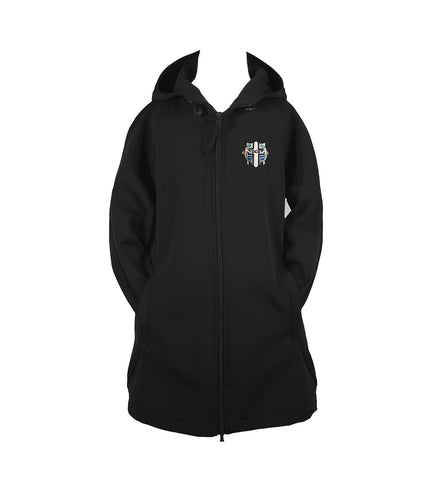 DELTA CHRISTIAN SCHOOL RAIN COAT WITH HOOD, GIRLS, YOUTH