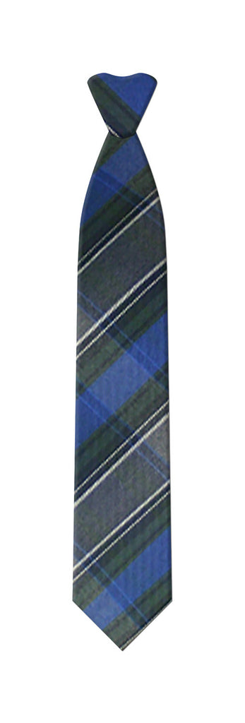 TARTAN ZIPPER TIE <br><strong> FINAL SALE</strong>