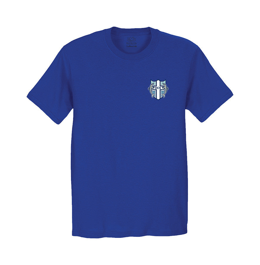 DELTA CHRISTIAN GYM T-SHIRT, YOUTH