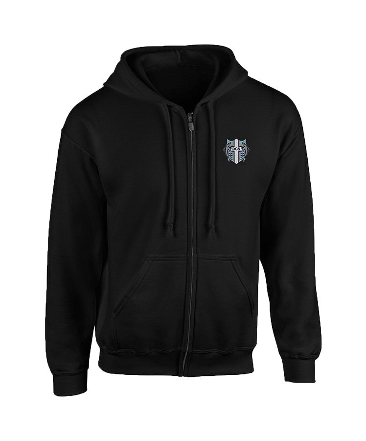 DELTA CHRISTIAN ZIP HOODIE, CHILD
