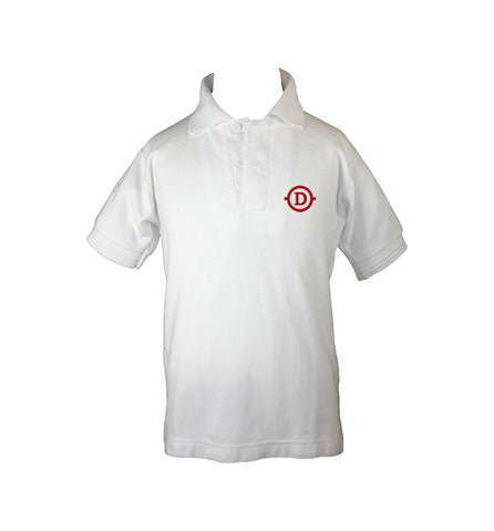 DELANO ACADEMY GOLF SHIRT, UNISEX, SHORT SLEEVE, CHILD