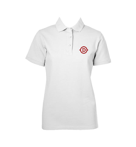 DELANO ACADEMY GOLF SHIRT, GIRLS, SHORT SLEEVE, ADULT