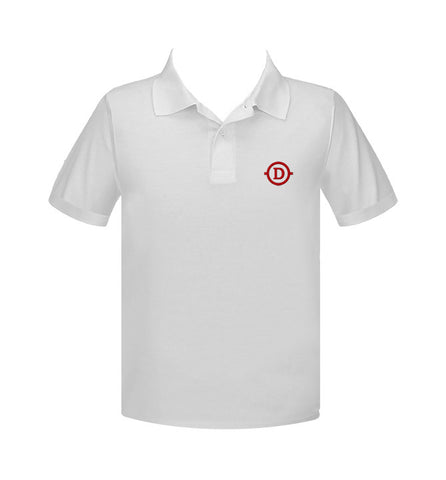 DELANO ACADEMY GOLF SHIRT, UNISEX, SHORT SLEEVE, YOUTH