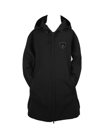 DELANO ACADEMY RAIN COAT WITH HOOD, GIRLS, YOUTH