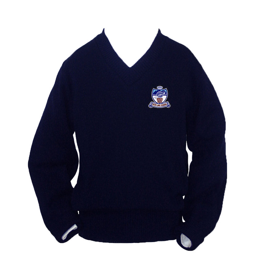DEER LAKE NAVY PULLOVER, SIZE 44 AND UP