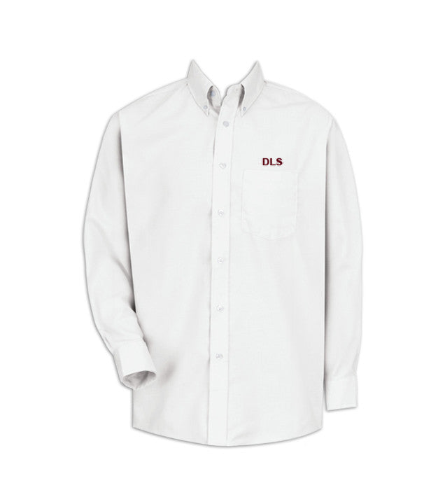 DEER LAKE DRESS SHIRT, UNISEX, LONG SLEEVE, YOUTH