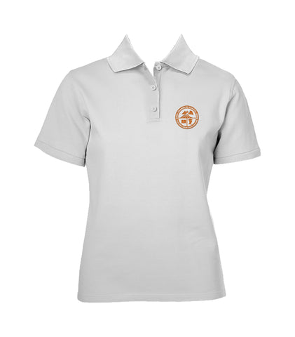 FRANKLIN SCHOOL GOLF SHIRT, GIRLS, SHORT SLEEVE, ADULT