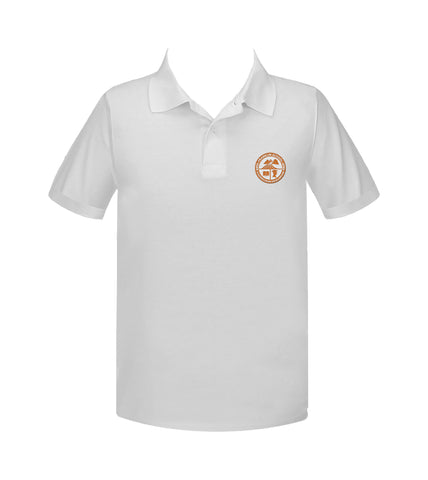 FRANKLIN SCHOOL GOLF SHIRT, UNISEX, SHORT SLEEVE, ADULT