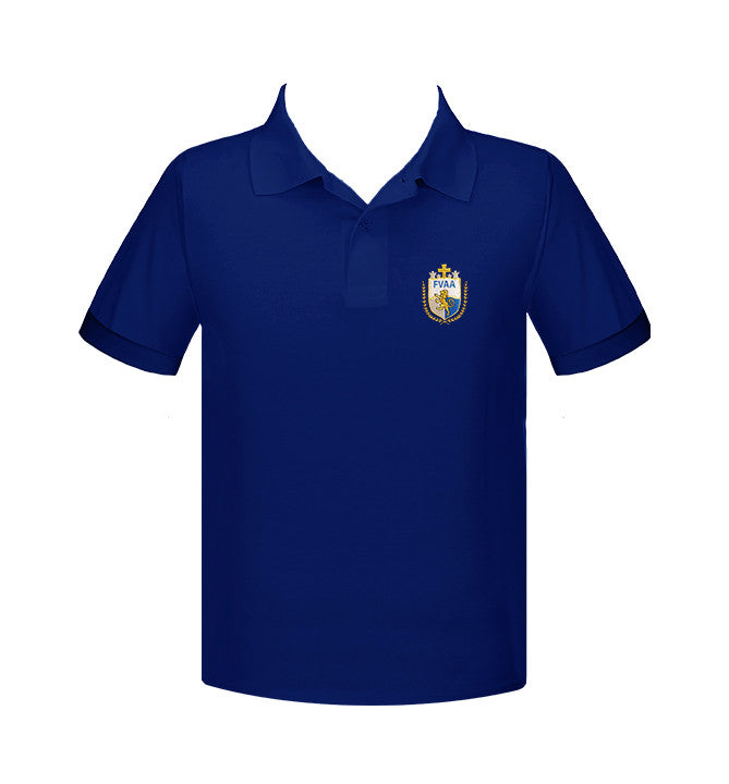 FRASER VALLEY ADVENTIST GOLF SHIRT, UNISEX, SHORT SLEEVE, ADULT