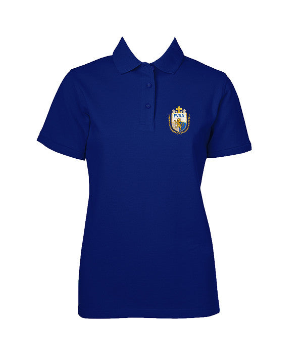 FRASER VALLEY ADVENTIST GOLF SHIRT, GIRLS, SHORT SLEEVE, YOUTH