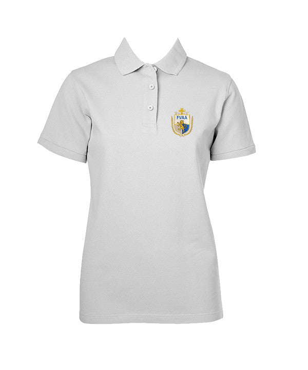 FRASER VALLEY ADVENTIST GOLF SHIRT, GIRLS, SHORT SLEEVE, ADULT