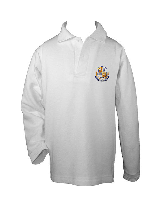FRASER VALLEY GOLF SHIRT, UNISEX, LONG SLEEVE, CHILD