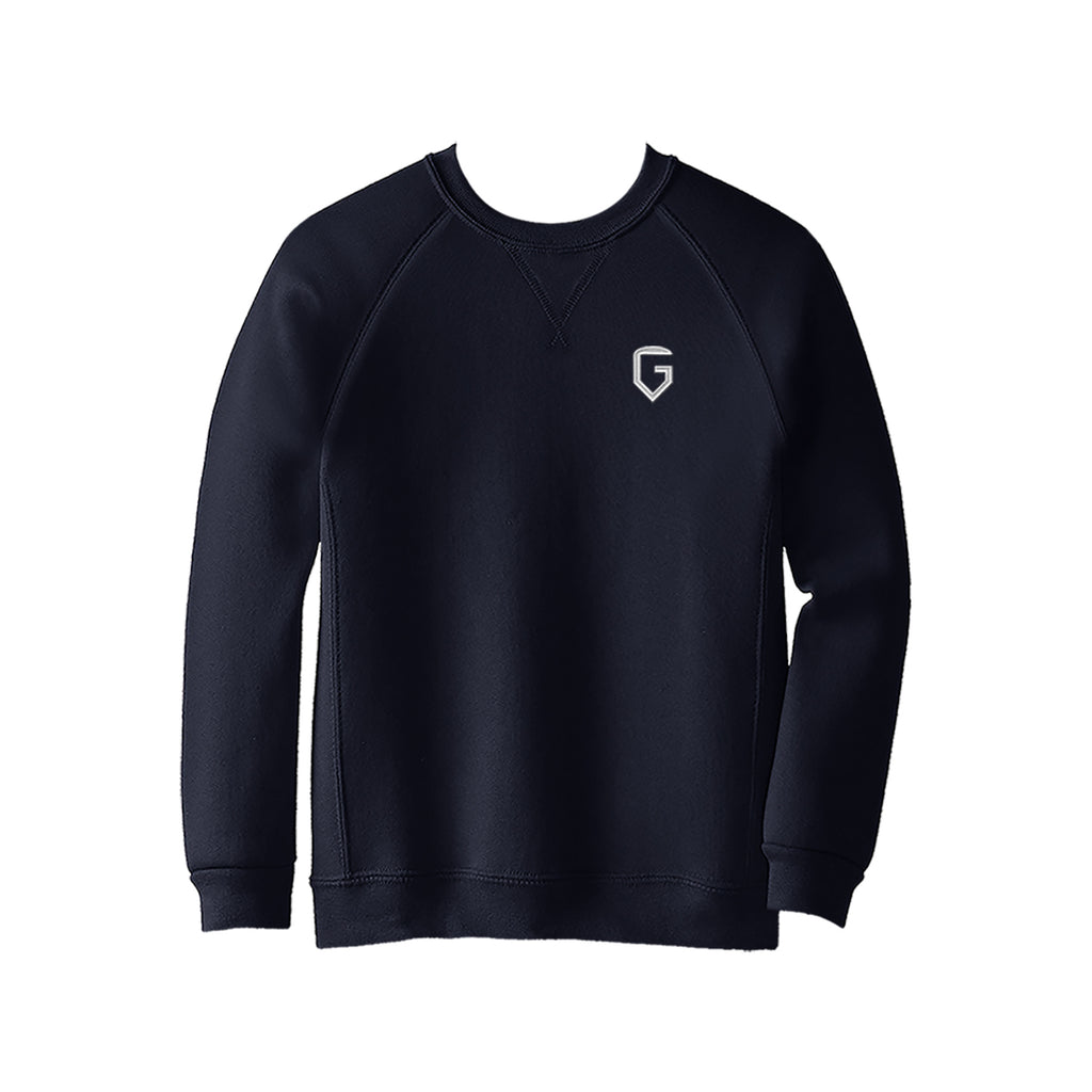 GLAREA CREWNECK SWEATSHIRT, YOUTH