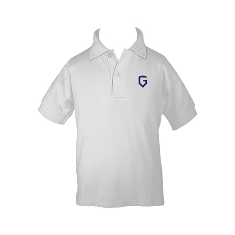 GLAREA GOLF SHIRT, UNISEX, SHORT SLEEVE, YOUTH