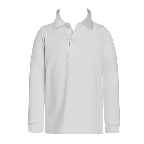 TEST | Golf Shirt Long Sleeve, Youth