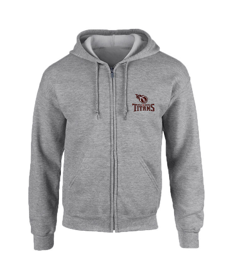 HOLY CROSS ZIP HOODIE, YOUTH